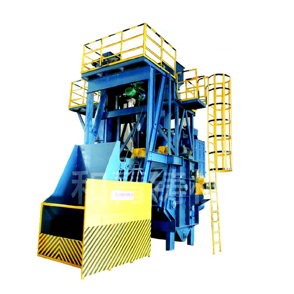 GN series steel crawler shot blasting machine